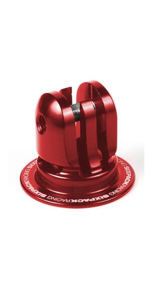 Sixpack Aheadcap Kamerahalterung red